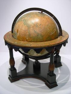 vintage and antique world globes | Antique and vintage globes, even if they are damaged, can have a ...