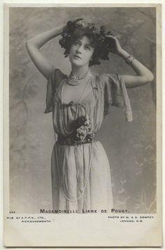 Anne-Marie Chassaigne, dite Liane de Pougy, danseuse et courtisane de la Belle Époque