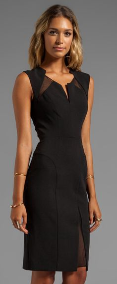 Superb LBD from Black Halo...the mesh inserts make this unique.