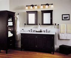 107 best bathroom lighting over mirror images on pinterest bathroom vanity light fixtures ideas aloadofball Choice Image