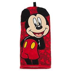 Disney Mickey Mouse Oven Mitt | Disney StoreMickey Mouse Oven Mitt - Give Mickey a hand for helping out in the kitchen with this protective oven mitt featuring a large embroidered appliqu�. The allover print will serve up delicious memories of your park visit.
