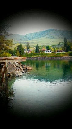 Lake Chelan in Washington. My friend took this picture