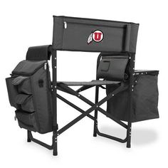University of Utah Fusion Portable Outdoor Chair w/Digital Print