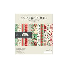 Authentique - Retro Christmas Collection - 6x6 Paper Pad