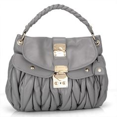 miu miu Hobo Bag RR1300 Purple