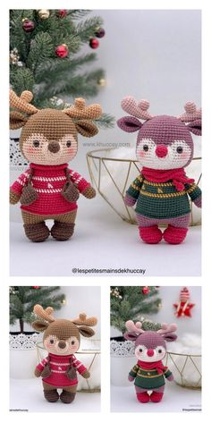 Crochet Home, Crochet Crafts, Yarn Crafts, Crochet Projects, Free Crochet, Crochet Dolls Free Patterns, Crochet Patterns Amigurumi, Free Christmas Crochet Patterns, Crochet Christmas Decorations
