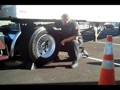 DOT Inspector explains what he looks for when checking semis - YouTube