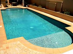 Cookes Pools & Spas Concrete Pool - Fully Tiled with QuikClean InFloor Cleaning