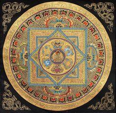 improve your ability to love and turn the key to Nirvana's door. #Mandala #Tara
