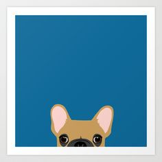 French Bulldog 3 Art Print by Anne Was Here