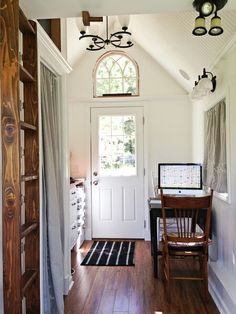 Entry to Tiny Home.