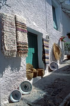 "Spain The Alpujarra is a natural and historical region in Andalucía, Spain, on the south slopes of the Sierra Nevada and the adjacent valley.[1] The average elevation is 4,000 feet above sea level.[2] It extends over two provinces, Granada and Almería; it is sometimes referred to in the plural as ""Las Alpujarras""."