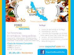 Foro Gastronómico Nacional Expo Chef's / Boca del Río 2012 / 23-25 Nov 2012