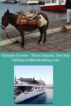 Read all about three Greek islands, one day with Olympic Cruises and Travel Bloggers Greece.