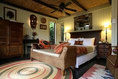 The 'Tree Tops' Room, at Moontide Lodge, Wilderness (Garden Route) S.