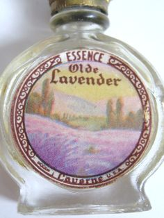 DECO Vintage 1930s Essence Olde Lavender Glass by CovetedCastoffs, $39.99