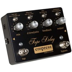 Can step through presets which sound interesting. 170. Is a Tape Delay rather than a 'digital delay' though.