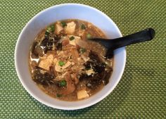 Grace Young's hot and sour soup is the cure for what ails you. (Kathy Gunst)