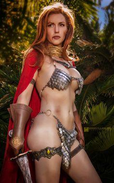 Red Sonja by Jacqueline Goehner by wbmstr.deviantart.com on @DeviantArt - More at https://pinterest.com/supergirlsart #redsonja #hot #sexy #cosplay #girl