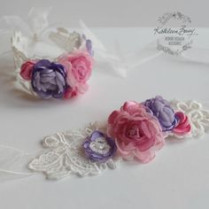 Wrist Corsage Pink and purple - bridal cuff bracelet - wedding accessories - Mot. Wrist Corsage Pink and purple – bridal cuff bracelet – wedding accessories – Mother of the Br Bridal Cuff, Prom Flowers, Wedding Flowers, Prom Accessories, Corsage And Boutonniere, Pink And Purple Flowers, Corsage Wedding, Wrist Corsage, Wedding Bracelet