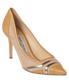 a1c78d32753 Jimmy Choo Hettie 85 Suede   Leather Pump Wedge Shoes