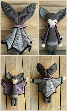 Made by Els van S.(Lalylala) Vlad the vampire bat is soooooooooooooooooo adorable!!!!!!