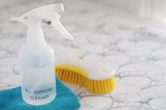 My homemade All Purpose Cleaner is extremely easy to make and very effective, using mostly common ingredients from your pantry. Homemade All Purpose Cleaner, All Purpose Cleaners, Cleaning Recipes, Cleaning Hacks, Cleaning Supplies, Reduce Reuse Recycle, Septic Tank, House Smells, Spray Bottle