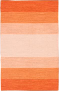 Orange Ombre Rug - seeing Ombre everywhere recently!