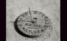 Sundial, made by A. K. Roy Aparajito (El invencible)