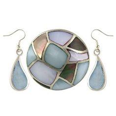 Bijoux sphères en argent 925 Perle Gemme boucle d'oreille-bague sertie fashion pour femmes: ShalinIndia: Amazon.fr: Bijoux