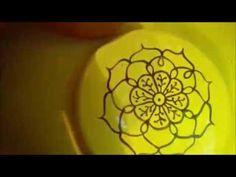 Mandala em Porcelana | freehand #mandala #freehand #painting #porcelana #artistic #art