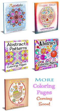 Drawing Lessons Easy Step By Tutorials Teach You How To Make Your Own Abstract Coloring