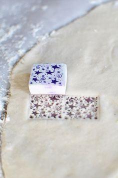 DIY salt dough tags tutorial.
