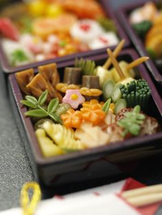 "Japanese traditional food "" OSECHI "" for new year's dinner /miniature / Kimie Okumura ミニチュア おせち"