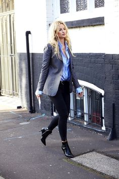 Photos via: Creators Of Desire In a statement blazer, this look from Swedish blogger Anouk Yve is...