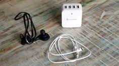 """Rabatt-Aktion: Syncwire Bluetooth Sport In-Ear Headset & 4-Port USB-Ladegerät - https://apfeleimer.de/2016/05/syncwire-bluetooth-sport-in-ear-headset-4-port-usb-ladegeraet - Über den Hersteller Syncwire hatten wir bereits beim Thema """"günstige Lightning Kabel mit lebenslanger Garantie"""" berichtet. Doch neben zahlreichen iPhone Ladekabeln finden wir im Sortiment des Herstellers zwei weitere interessante Produkte: ein günstiges Bluetooth In-Ear Wireless He..."""