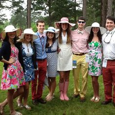 Carolina Cup Crew thanks to @Lilly Pulitzer