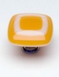 Sietto Glass Cabinet Knobs Luster Marigold