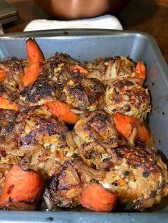 Ground Turkey Pasta, Ground Turkey Tacos, Ground Turkey Recipes, Salisbury Steak Meatballs, Turkey Meatballs, Meatball Recipes, Chicken Recipes, Side Turkey, Turkey Stuffing