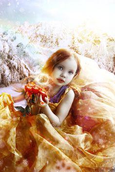 Winter Gold by Antoshines.deviantart.com on @DeviantArt