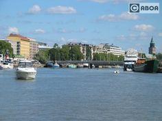 Turku, river Aurajoki