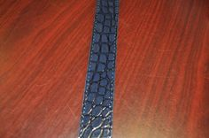 Navy Essential Belt