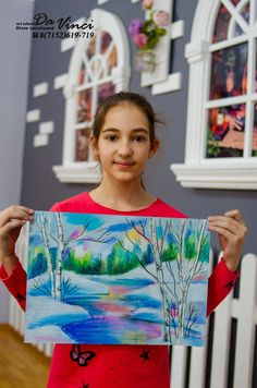 Winter Art Projects, Art Lessons For Kids, Art Lesson Plans, Creative Kids, Drawing For Kids, Mixed Media, Tie Dye, Drawings, Women