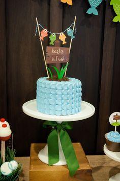 Gone+Fishing+Birthday+Party+Cake