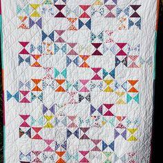 Threadbias: Cuzco Charm Crossing by Ohalloranaoife. pattern from Moda Bake Shop in link