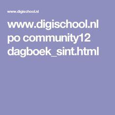 www.digischool.nl po community12 dagboek_sint.html