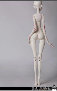 K Body 11 Body Only Doll Chateau 1 4 Girl Body Super Dollfie Size MSD BJD | eBay