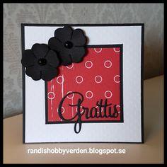 Randis hobbyverden: Enkelt grattis-kort