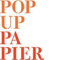 Amazing Pop Up Papier feine Dinge auf und aus Papier