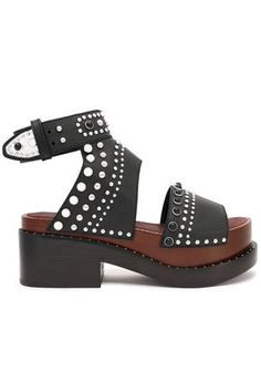 3.1 PHILLIP LIM | Studded leather platform sandals #Shoes #3.1 PHILLIP LIM